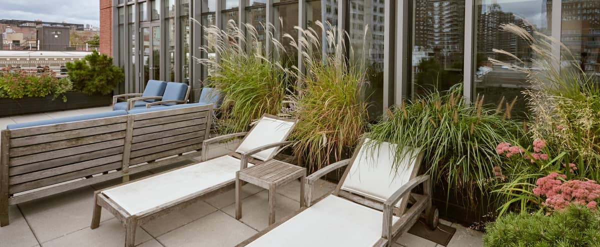 Unique Chelsea Penthouse with Large Terrace in New York Hero Image in Midtown, New York, NY
