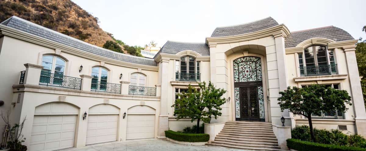 Extravagant Mediterranean Villa in Bel Air, CA in Los Angeles Hero Image in Bel Air, Los Angeles, CA