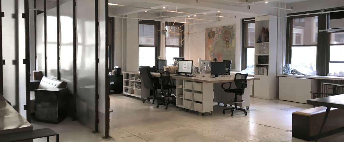 Bright, Open, Beautiful Studio/Office Space Midtown-Manhattan in New York Hero Image in Midtown, New York, NY
