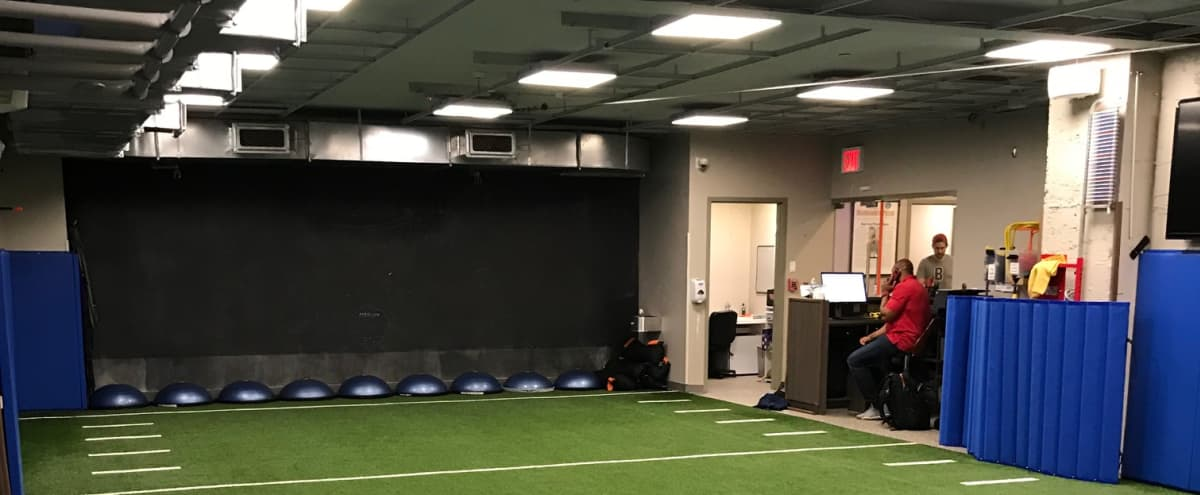 Multi Use Turf Fitness Class Space for Trainer's in Roslyn Hero Image in undefined, Roslyn, NY