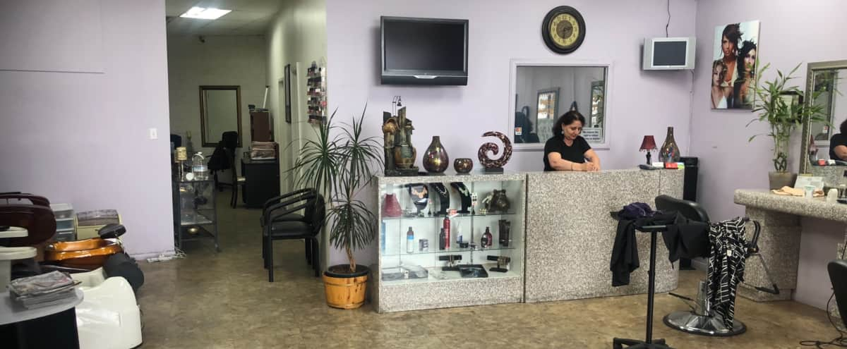 North Hollywood strip mall hair beauty pedicure manicure salon in North hollywood Hero Image in North Hollywood, North hollywood, CA
