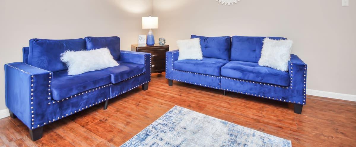 Cozy Apartment Near Downtown Houston and NRG Stadium in Houston Hero Image in Astrodome, Houston, TX