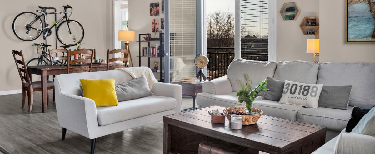 Modern Downtown Apartment in Quaint City in Woodstock Hero Image in undefined, Woodstock, GA