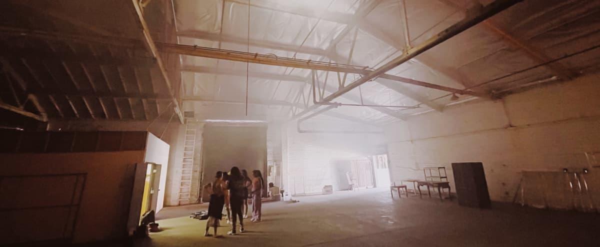 HUGE Warehouse With Black CYC wall in Los Angeles Hero Image in Central LA, Los Angeles, CA
