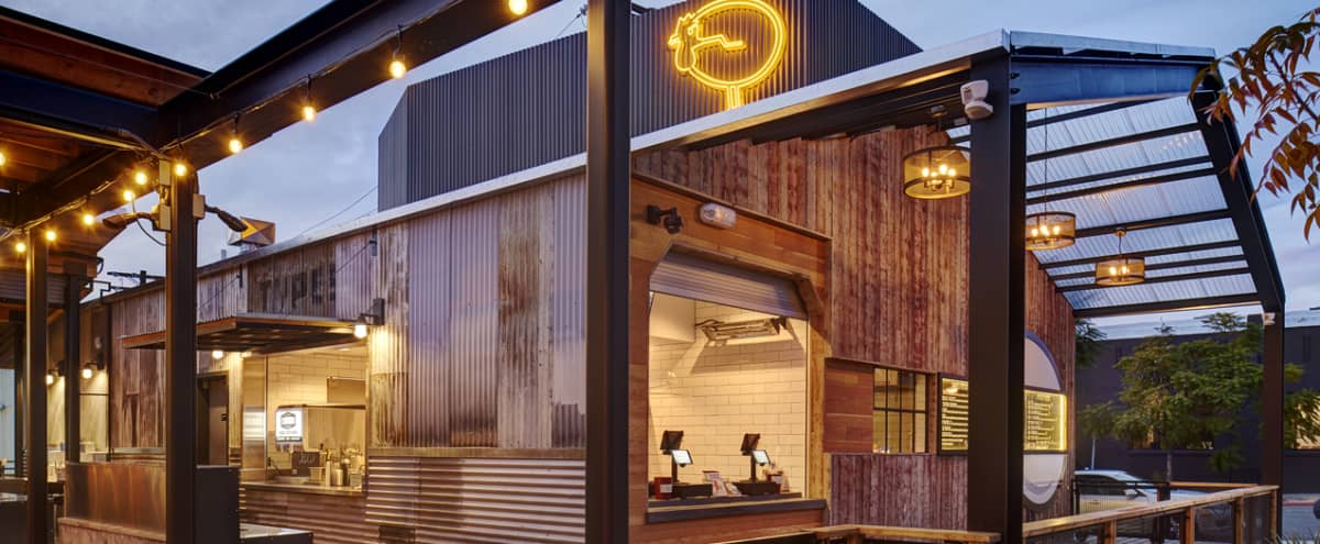 Trendy game-filled space serving farm to table in San Diego Hero Image in Harborview, San Diego, CA