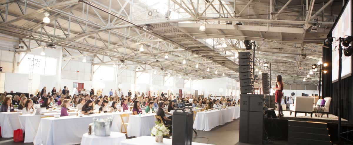 Clear Span Warehouse for Conferences in the Marina in San Francisco Hero Image in Marina District, San Francisco, CA