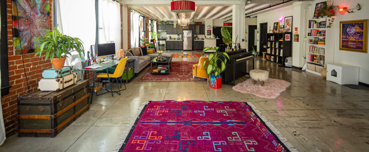 Downtown Artist Loft Studio in LOS ANGELES Hero Image in Central LA, LOS ANGELES, CA