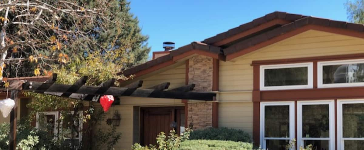 Spacious Home and Yurt with Scenic Mountain Views in Agoura Hero Image in undefined, Agoura, CA