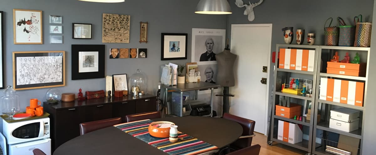 Unique Nob Hill Workplace and Meeting Room in San Francisco Hero Image in Polk Gulch, San Francisco, CA
