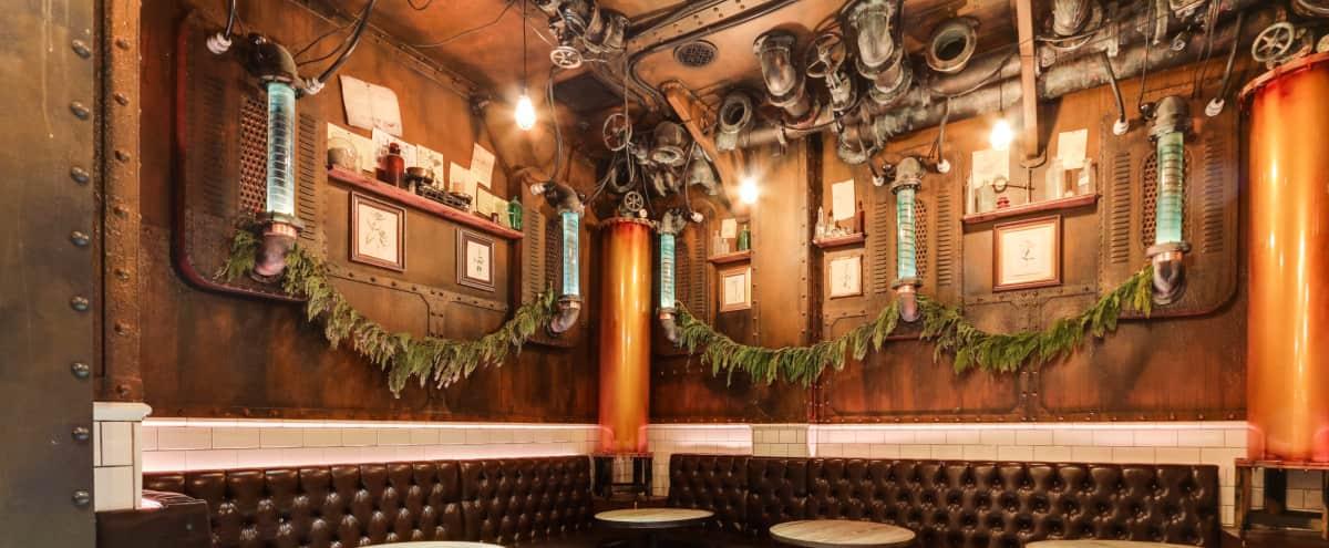 Semi-Private Space in London Underground Inspired Bar in San Francisco Hero Image in Tenderloin, San Francisco, CA