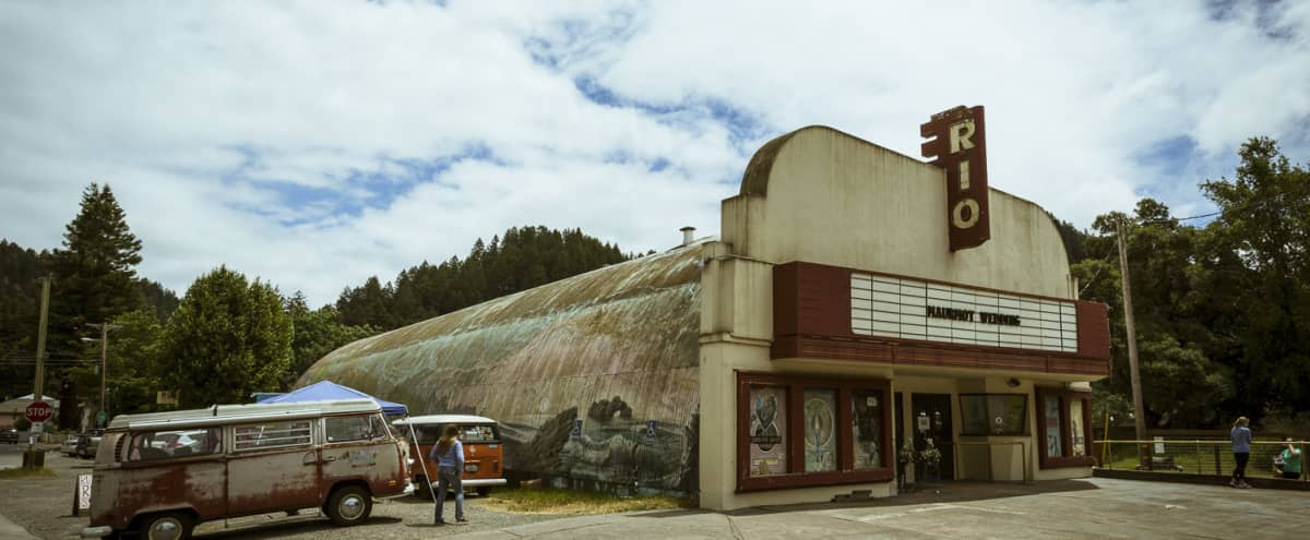 Historic Riverside Movie Theater and Event Space in Monte Rio Hero Image in undefined, Monte Rio, CA