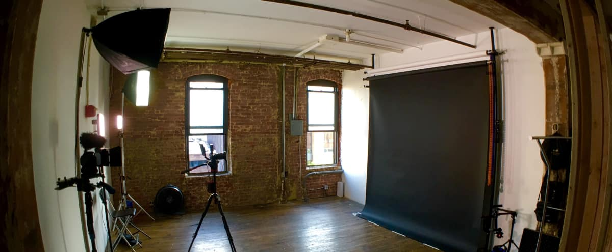 Rustic Greenpoint Creative Photo/Video Studio in Brooklyn Hero Image in Greenpoint, Brooklyn, NY