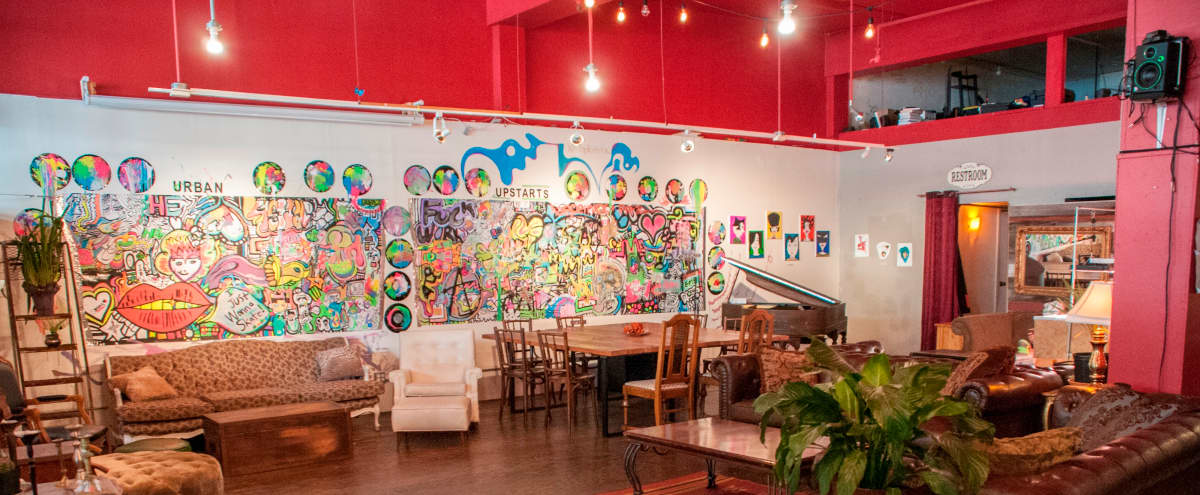 Beautiful Haight Ashbury events space. in San Francisco Hero Image in Haight-Ashbury, San Francisco, CA