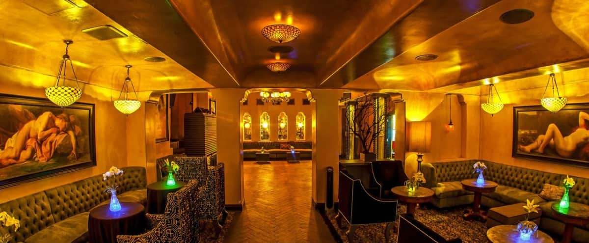 Moroccan and Old Hollywood Style Lounge with Patio in Los Angeles Hero Image in Central LA, Los Angeles, CA