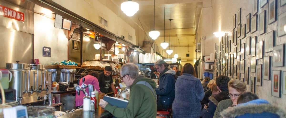 Historic Sandwich Shop Diner opened in 1929 in New York Hero Image in Midtown, New York, NY