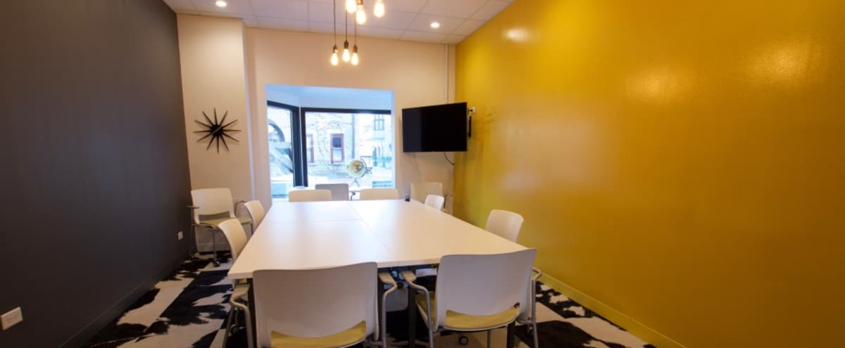 Naturally Lit Private Meeting Room in GENEVA Hero Image in undefined, GENEVA, IL