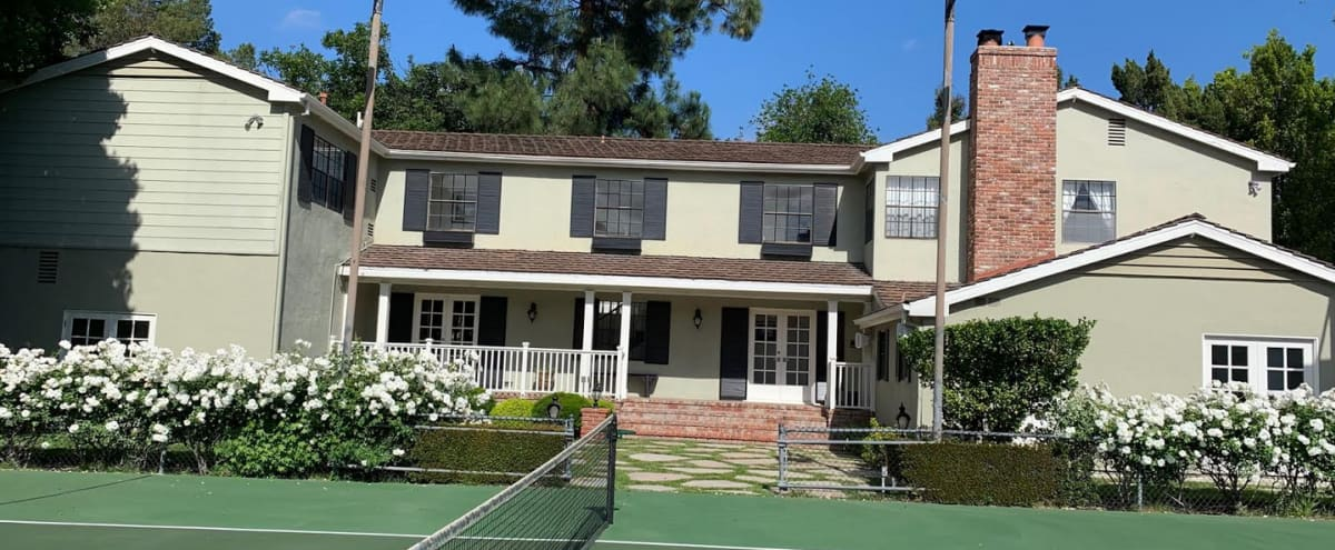 Gated Tennis Court/Pool 5 Bedroom Estate In Encino, CA in Encino Hero Image in Encino, Encino, CA