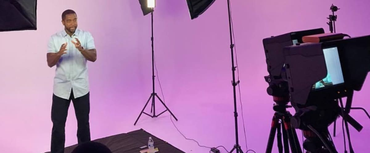 Fully Functional Film Studio with GreenScreen / Cyc Wall in Tampa Hero Image in Westshore, Tampa, FL