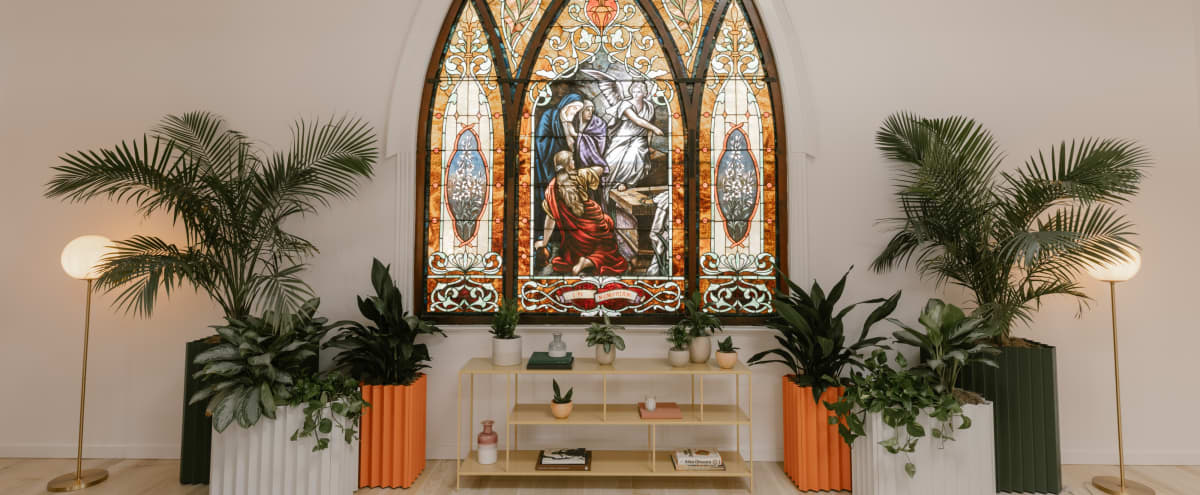 Renovated, Spacious Church for Film/Photo Shoots in Los Angeles Hero Image in Highland Park, Los Angeles, CA