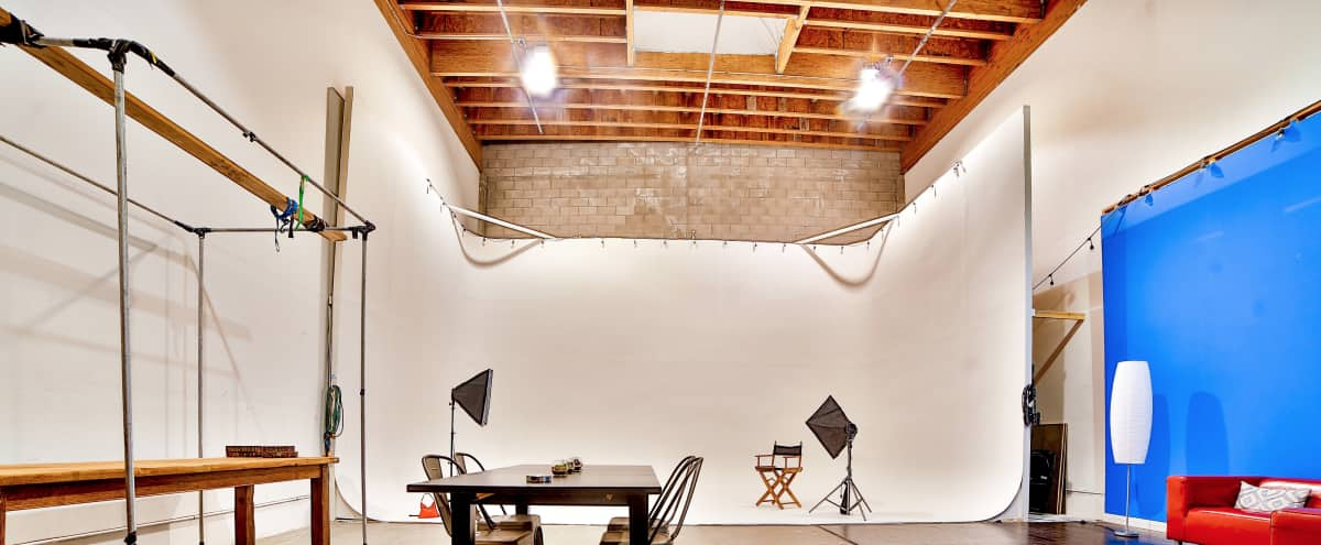 Unique industrial warehouse with lots of wide open space, infinity cyclorama, super high ceilings and additional private sitting area in san carlos Hero Image in undefined, san carlos, CA