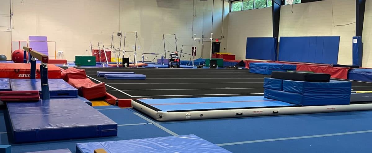 Gymnastics Studio High Ceilings in Sandy Springs Hero Image in Perimeter Center, Sandy Springs, GA