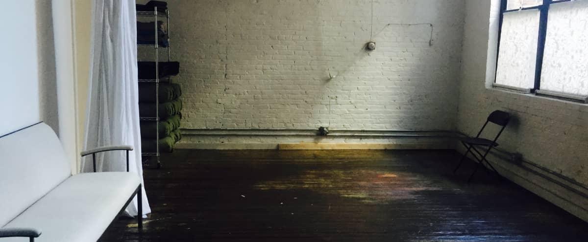 Beautiful Yoga / Workshop Space Loft in Industrial Building In Gowanus, Brooklyn in Brooklyn Hero Image in Gowanus, Brooklyn, NY