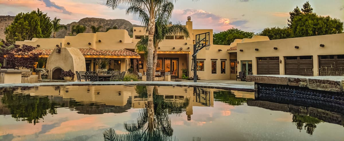 Stunning Southwestern Estate with Pool and Courtyard in Camarillo Hero Image in undefined, Camarillo, CA