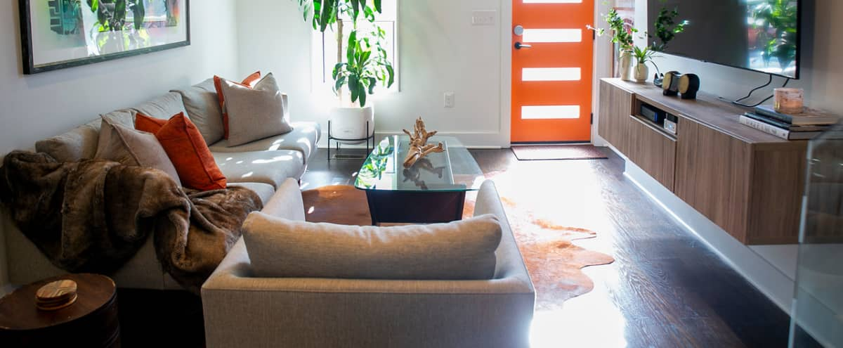 Updated Modern Townhome for Small Events in Baltimore Hero Image in Riverside, Baltimore, MD