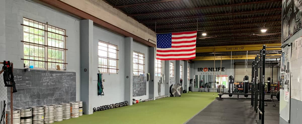 Warehouse mma and strength gym in downtown orlando in orlando Hero Image in Park Lake / Highland, orlando, FL