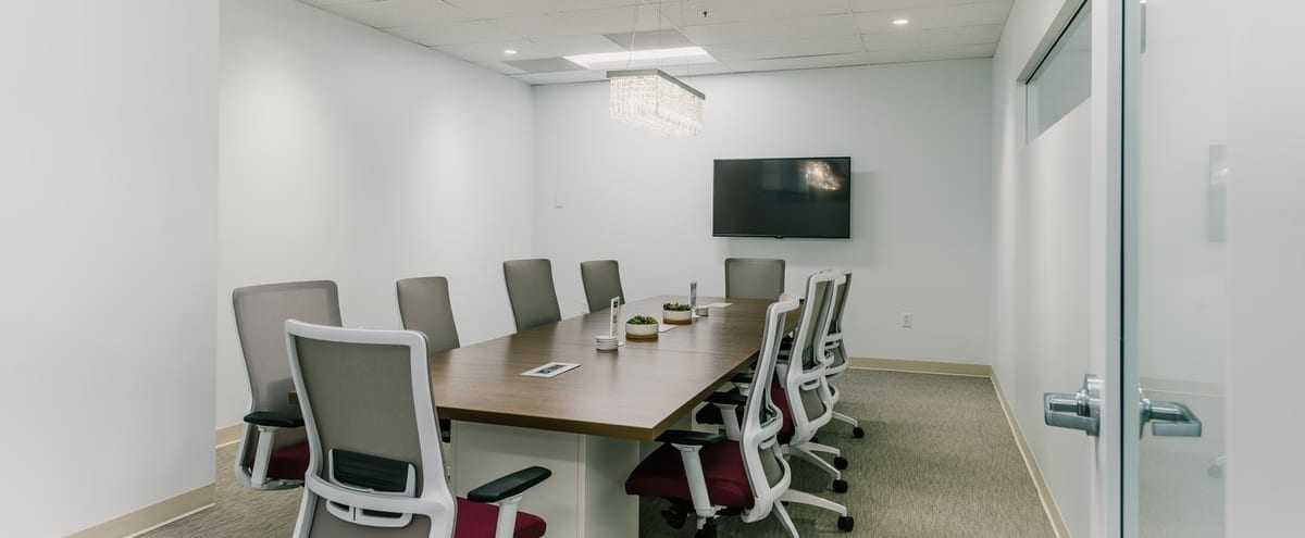 Chic and Professional Conference Room in Cherry Creek in Denver Hero Image in Hale, Denver, CO