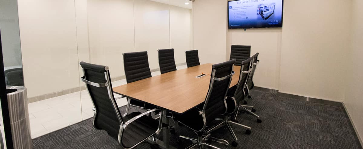 Stunning New Meeting Room F for 8 -TS in NEW YORK Hero Image in Midtown, NEW YORK, NY