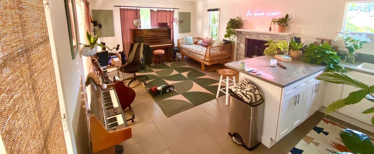 Peaceful, Bohemian Recording Studio with Mountain View in Pasadena Hero Image in undefined, Pasadena, CA