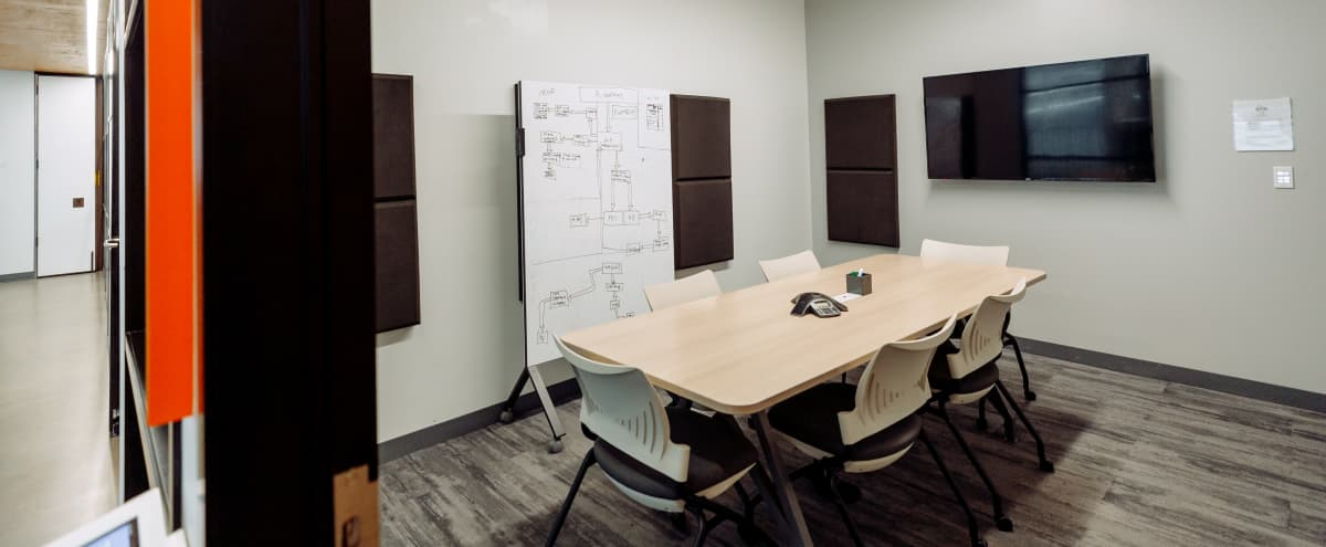 Industrial High - Tech Small Conference Room in Austin Hero Image in Downtown Austin, Austin, TX