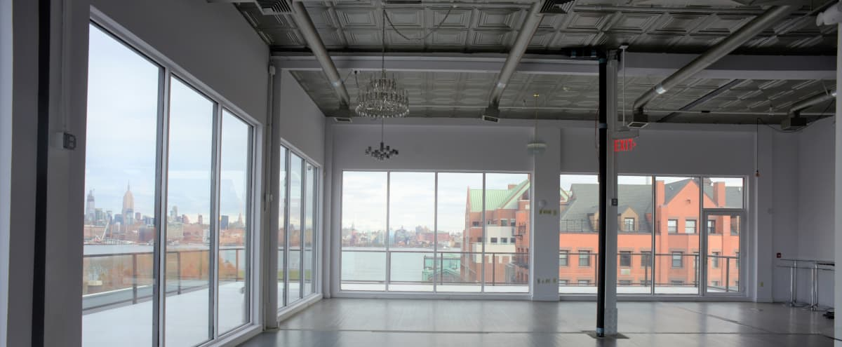 Loft Space with Wrap Around Terrace with Views to Die For! in Hoboken Hero Image in undefined, Hoboken, NJ