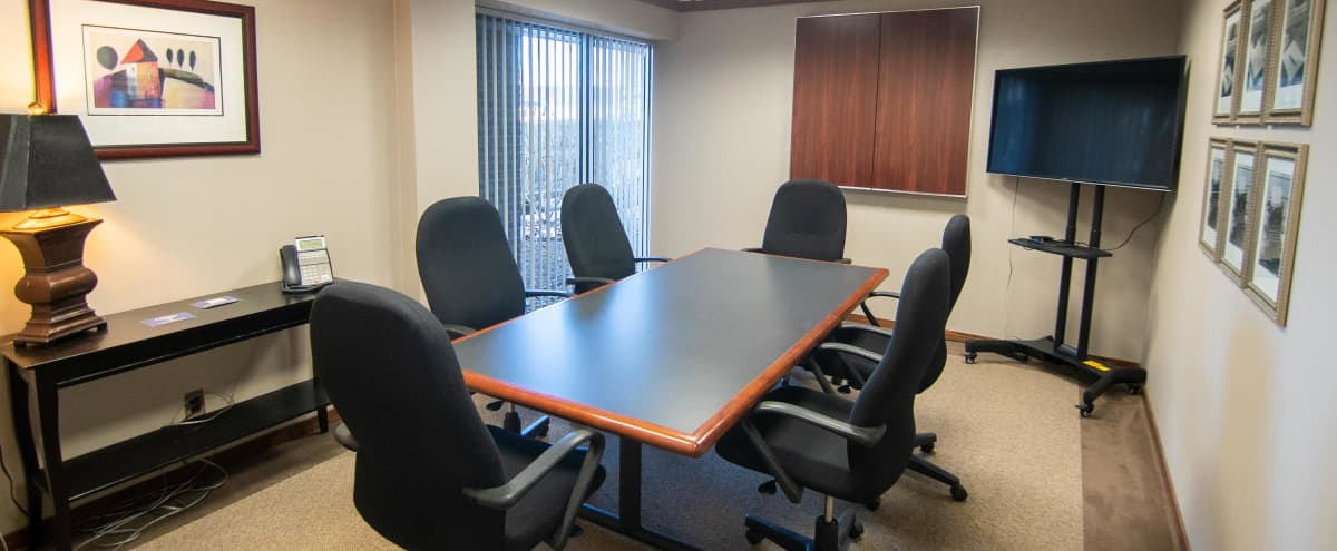 Secluded Meeting Space for 6 in Livonia w/ TV in Livonia Hero Image in undefined, Livonia, MI