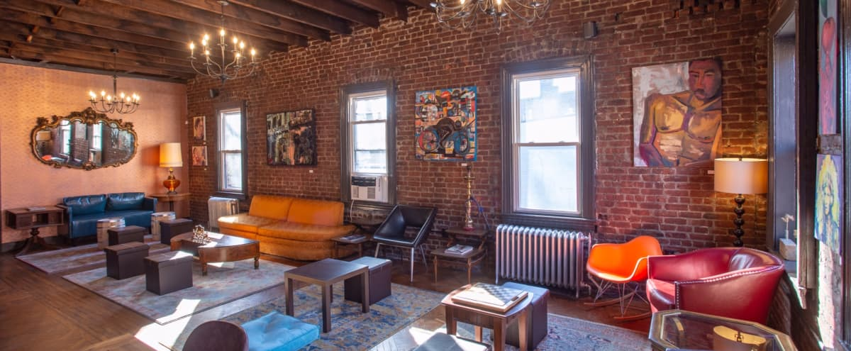 Rustic 2-floor Coffeehouse Excellent for Film and Photoshoots in Jersey City Hero Image in McGinley Square, Jersey City, NJ