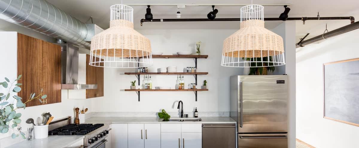 Modern California Kitchen & Dining Space in MDR in Marina Del Rey Hero Image in Venice, Marina Del Rey, CA
