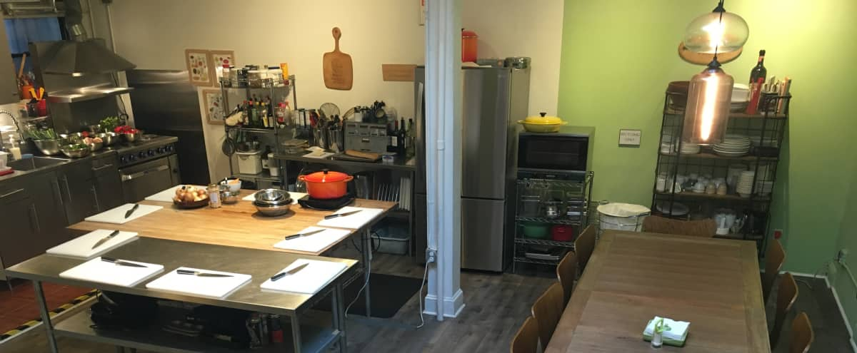 Kitchen Loft Space in SoHo in New York Hero Image in Lower Manhattan, New York, NY