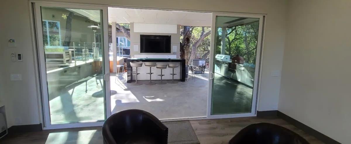 Modern Indoor/Outdoor Bar Event/Entertainment/view House in Los Altos Hills Hero Image in undefined, Los Altos Hills, CA