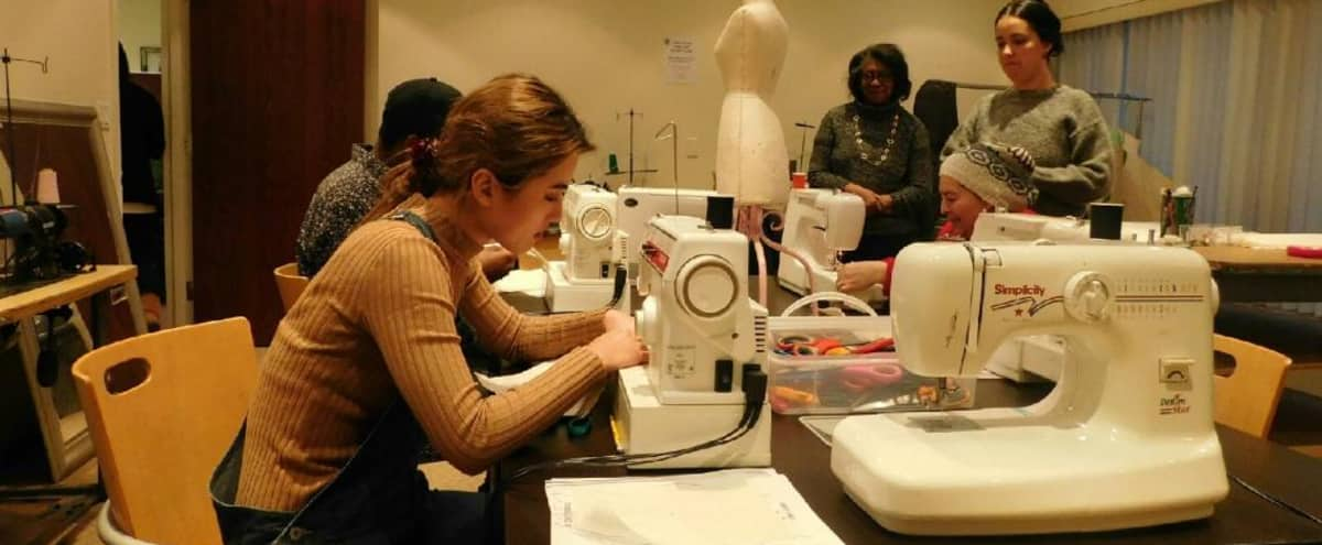 Available Sewing Classroom for Teaching Artist in Brooklyn Hero Image in Midwood, Brooklyn, NY