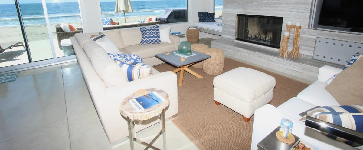 Modern Beach Front House in Aptos Hero Image in undefined, Aptos, CA
