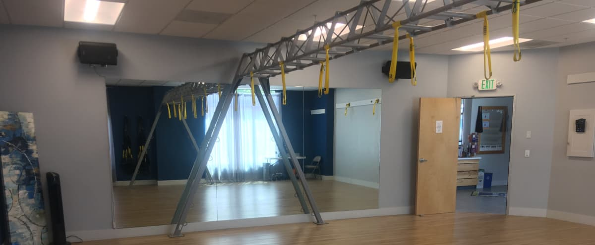 Beautifully Appointed Fitness/Dance/Yoga Studio Room in CAMPBELL Hero Image in Downtown, CAMPBELL, CA