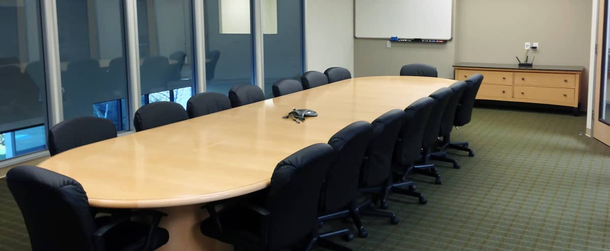 Modern Large Conference Room in Fremont Hero Image in Baylands, Fremont, CA