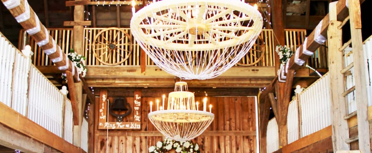 Vintage Rose Wedding Barn in Trufant Hero Image in undefined, Trufant, MI