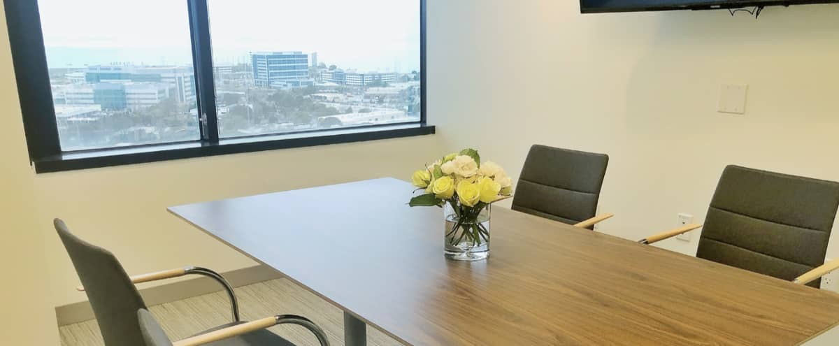 Penthouse Meeting Room with 360° views of the Bay / Mountains in Foster City Hero Image in Town Center, Foster City, CA