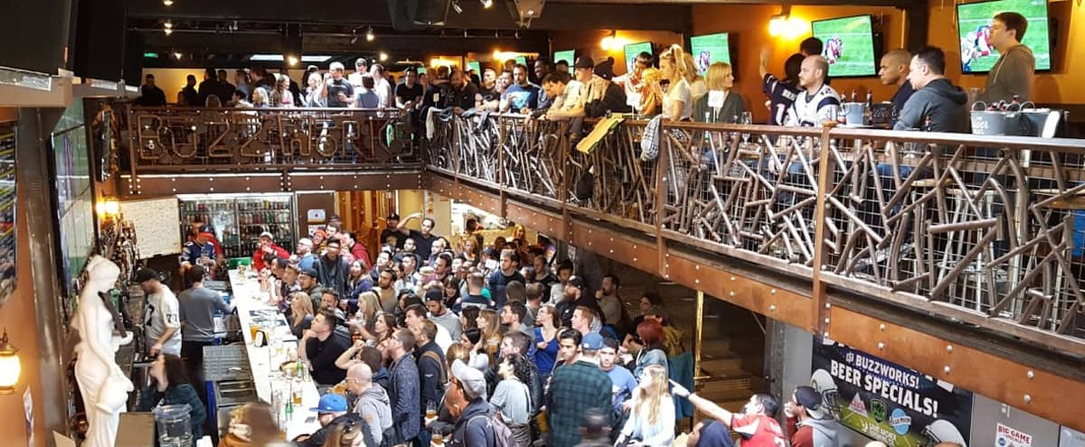 Multilevel SOMA Craft Beer Sports Bar - FULL VENUE RENTAL - IDEAL for your BEST event yet! in San Francisco Hero Image in South of Market, San Francisco, CA