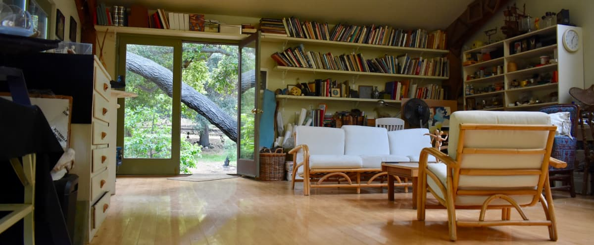 Artist studio/ Treehouse Cabin on Bucolic Property in Topanga Hero Image in undefined, Topanga, CA
