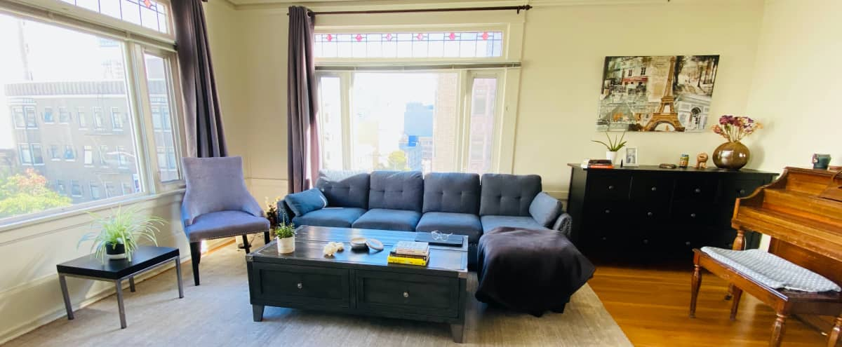 Spacious Downtown One Bedroom with the City View in San Francisco Hero Image in Chinatown, San Francisco, CA
