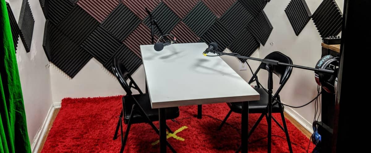 Podcast Recording Studio in Los Angeles Hero Image in Central LA, Los Angeles, CA