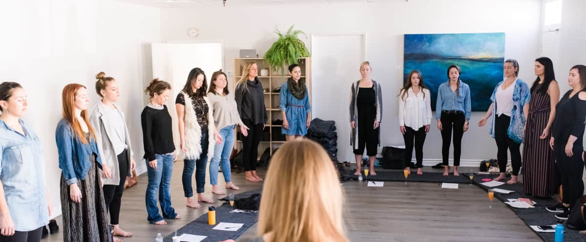Spacious Yoga Studio and Workshop Gathering Room in San Diego Hero Image in Bankers Hill, San Diego, CA